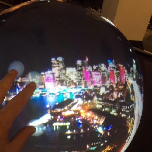 touch-sensitive spherical VR screen -thefilmbook