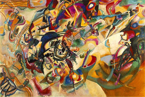"""Composition VII,"" 1913, Tretyakov Gallery, Moscow."