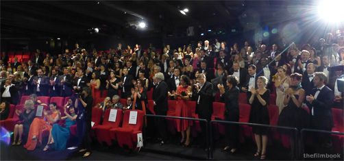 standing ovation for Vilmos Zsigmond at Cannes-