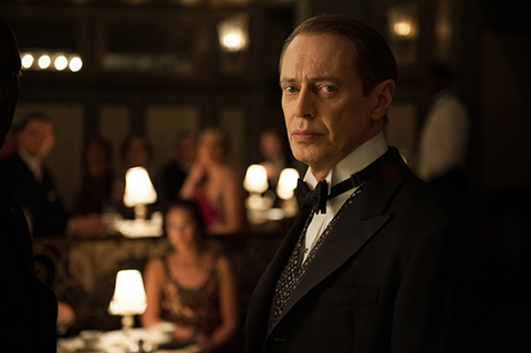 Nucky Thompson (Steve Buscemi) of BOARDWALK EMPIRE.