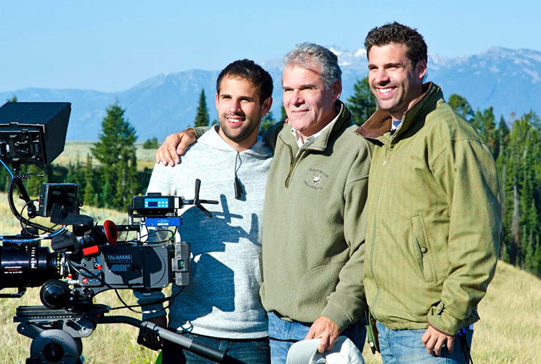 From left: Michael Bagdonas; James Bagdonas, ASC; Noah Bagdonas.