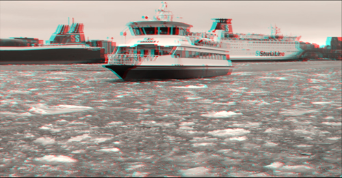 thefilmbook 3D workshop - faraway flatness - nearby and faraway boats