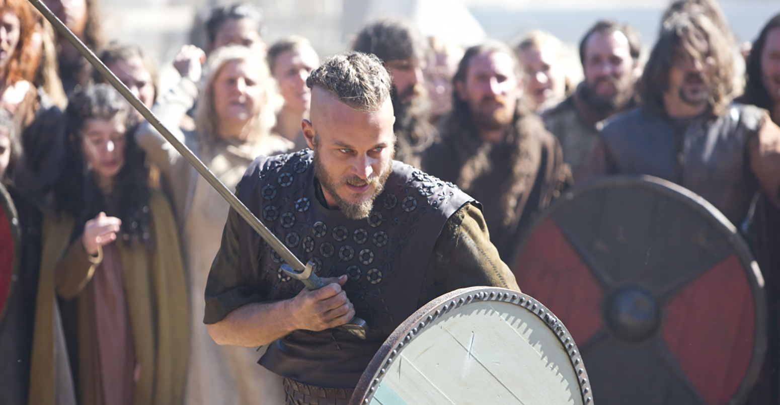 A scene from Vikings. (Credit: Jonathan Hession/History Channel)