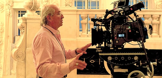 Vittorio Storaro, ASC, AIC, shooting with the Sony F65.